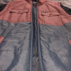 Rvca mens puffer wayward jacket